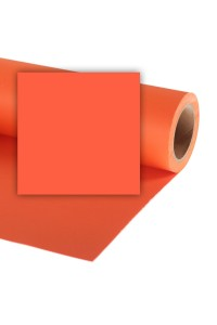Background Paper Rolls 1.35x11mm Orange