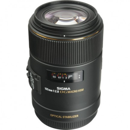 Sigma 105mm f/2.8 EX DG Macro OS  Lens for Canon EF