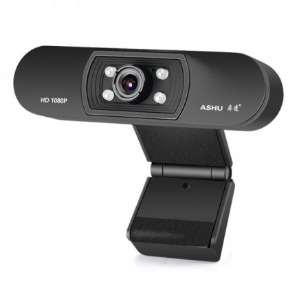 Webcam 1080P HDWeb Camera Camera with HD Microphone for Laptop PC