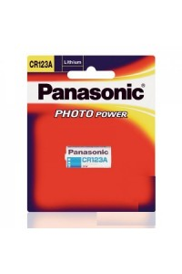 Baterai Panasonic Lithium CR123A Photo Power