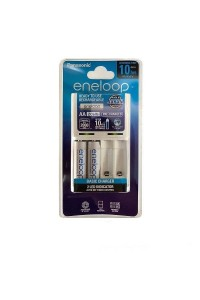 Panasonic Eneloop Battery Charger with 2 AA 2000mAh