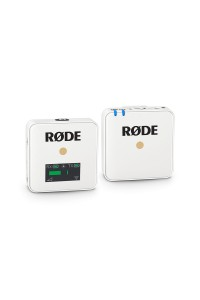 Rode Wireless GO Compact Wireless Microphone System / White