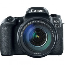 Canon 77D with 18-135mm USM Lens
