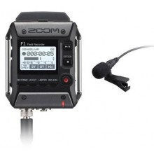 ZOOM F1-LP Portable Field Recorder W/ Lavalier Microphone Kit