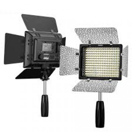 Yongnuo YN160 III LED Video Light And NP-F550 Battery NP-F970 Changer