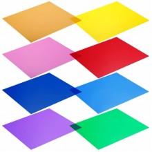 فلاتر اضاءة ملونه color gel filter