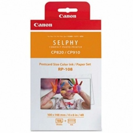 Paper set for Canon Selphy - RP-108IN