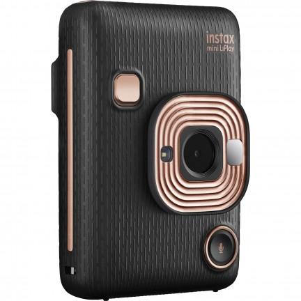 FUJIFILM INSTAX Mini LiPlay Hybrid Instant Camera (Elegant Black)