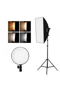 Studio Photography Softbox LED Light Kit