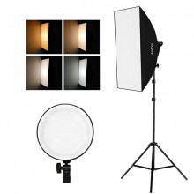 Studio Photography Softbox LED Light Kit