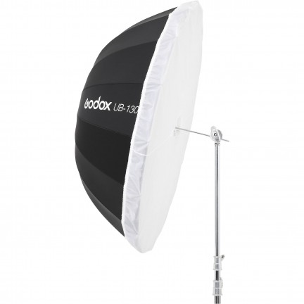 "Godox White Parabolic Umbrella 130CM (51"") UB-130W with diffuser"