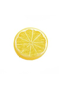 Yellow Mini Photography Props Simulation Lemon Slices for Studio Photo Desktop Shooting Decoration Accessories
