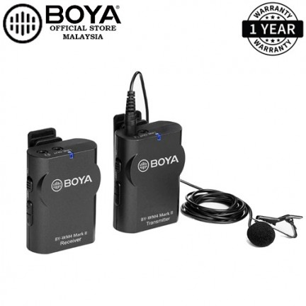Boya BY-WM4 MK II Microphone Wireless Studio Condenser Microphone