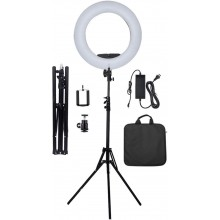 "Yidoblo 18"" Dimmable LED Light Ring FS-390II Kit"