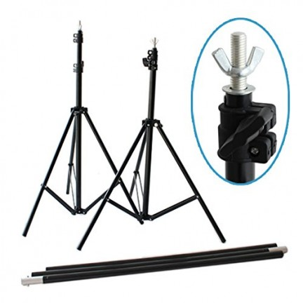 T Portable Backdrop Stand Kit (2x2 meter)