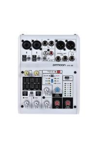 ammoon AM-4R 6-Channel Digital Audio Mixer