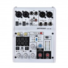 ammoon AM-4R 6-Channel Digital Audio Mixer