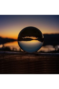 Crystal Clear Lens Ball