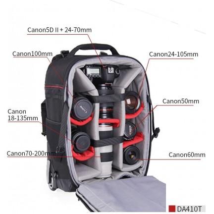EIRMAI Trolley  Da411 Travelling Trolley Backpack