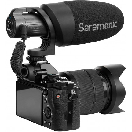 CamMic+ On-Camera Battery-Powered Shotgun Microphone for DSLR