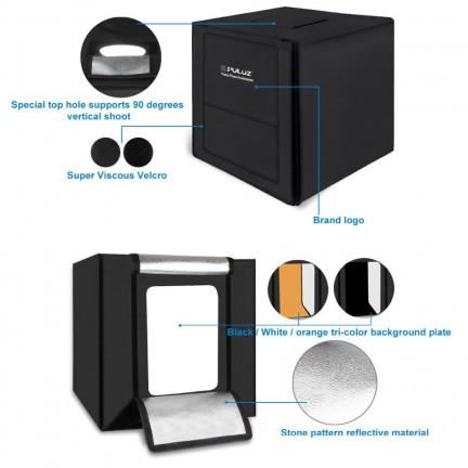 PULUZ 80cm lightbox Photo Studio Box softbox