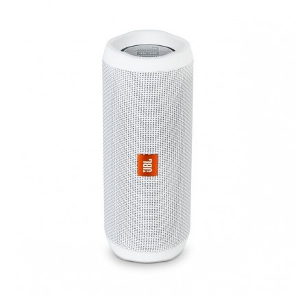 JBL Flip 4 Portable Bluetooth Wireless Speaker - White