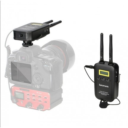 VMICLINK5 RX+TX 5.8GHZ WIRELESS LAVALIER SYSTEM FOR DSLR