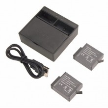For Gopro5/6 2 Channel Charger Kit