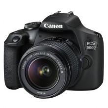 Canon EOS 2000D DSLR Camera with 18-55 III lens