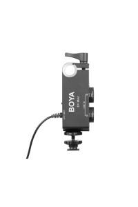 BOYA by-MA2 Dual-Channel XLR Audio Mixer with 6.35mm Input 3.5mm Jack