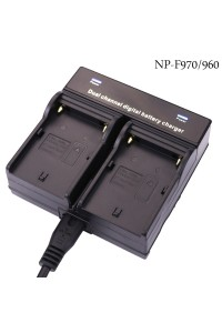 Battery Charger Dual Channel for Sony NP-F970
