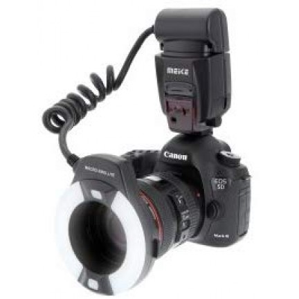 Meike MK-14EXT Macro TTL ring flash for Canon E-TTL