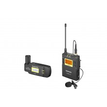 Saramonic UwMic9 TX9+RX-XLR9 UHF Wireless Lavalier Mic System with Plug-On