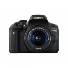 Canon 750D with 18-55mm Lens