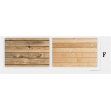 Double-Sided Wood Texture Desktop Photography Background Paper