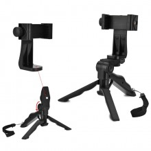 Phone Holder Tripod Handheld Stabilizer Hand Grip Mount for Smartphone