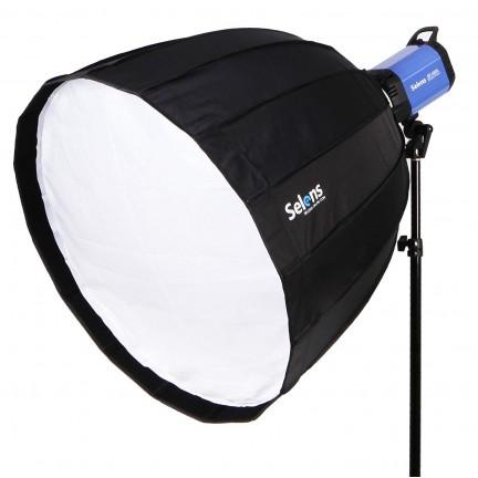 Professional quick setup Hexadecagon softbox Umbrella 120cm