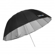 "Selens 65"" 165cm Parabolic Deep Reflective Umbrella Silver Color"