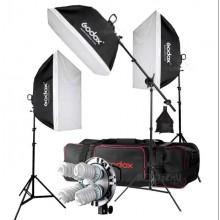 3x Godox TL-5 E27 5 Socket Light Holder