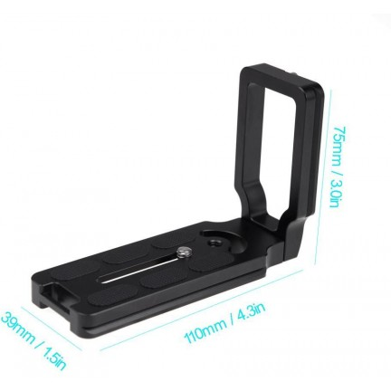 Universal Quick Release L Plate Bracket for DSLR