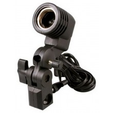 E27 flash strobe bulb umbrella holder socket