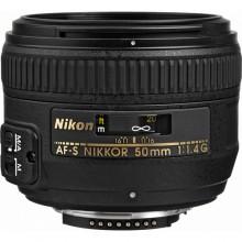 Nikon AF NIKKOR 50mm f/1.4G Lens for Nikon DLSR Cameras