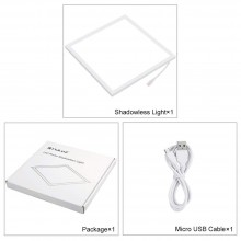 Puluz Led Photography Light Panel Pad 20*20cm