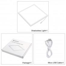 Puluz Led Photography Light Panel Pad 20*20cm