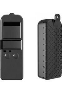 Osmo Pocket Soft Silicone Gel Body Case Protective Lens Cap Cover Black