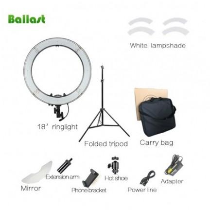BALLAST SELFIE RING LIGHT LARGE 18 INCH