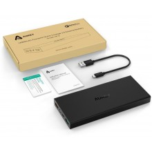 Aukey PB-T3 16000mAh Portable Power Bank with Qualcomm Quick Charge 2.0