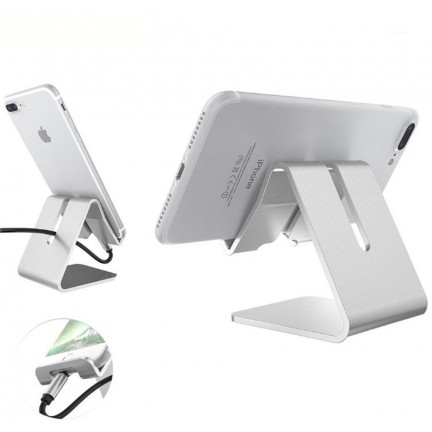 Mobile Stand Silvery