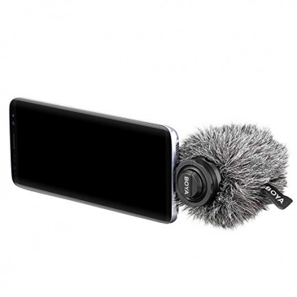 BOYA BY-DM100 Digital Stereo Cardioid Condenser Microphone