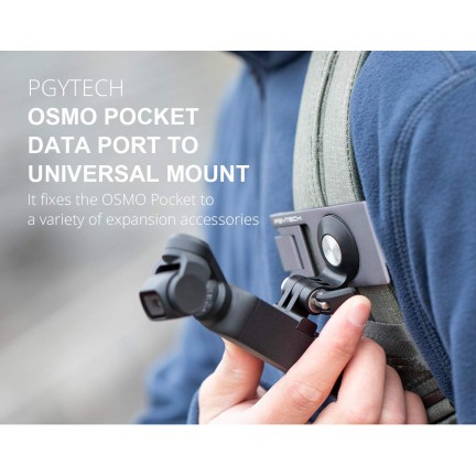 3 Pcs/set PGYTECH OSMO Pocket Data Port to Universal Mount